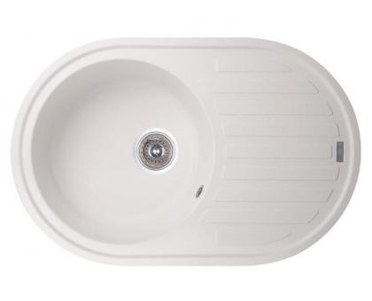 Кухонная мойка (композитный камень) GF 780x500 WHI-01
