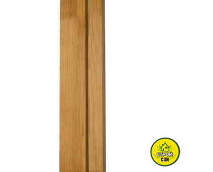 Лутка дерево (120мм) Стояк 2м