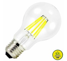 Лампа (8W) Biom FL-311 A60 прозрач.