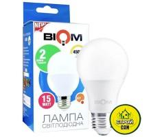 Лампа (15W) E27 Biom LED BT-516