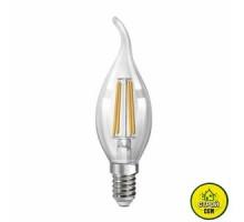 Лампа (4W) Biom FL-305 C35 LT Свеча на ветру