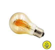 Лампа (8W) Biom FL-411 A60 бронза