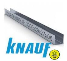 KNAUF Профиль UD 27/28 L=3м (0,6мм)