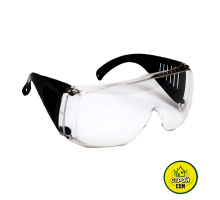 Очки защитные прозрач. с дужками