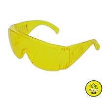 Очки защитные прозрачные с дужками