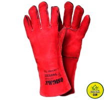 Перчатки для сварки краги Sigma (красные)