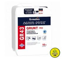 Грунт Sniezka Acryl-Putz GR43 PRO (10л)