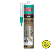Силикон Akfix 100D санитар. белый(310мл)
