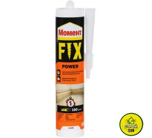 Клей Момент Fix power 100 белый (400гр)
