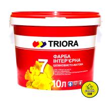 Краска Triora акриловая шелковистая №7 (10л)