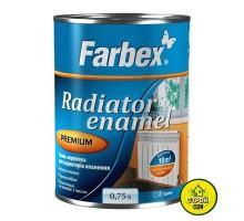Эмаль Farbex Акрил. для радиаторов глянц.(0,75л)