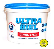 Краска Sniezka Ultra biel (14кг)
