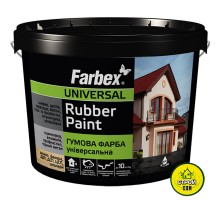 Краска Farbex Резиновая Зелёная (1,2кг)