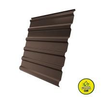 Профнастил коричневый 950х1500 (0,3мм)
