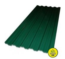 Профнастил зелёный 950х1500 (0,3мм)