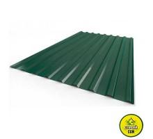 Профнастил тём.зелёный (1,2х2м) 0,45мм RAL6005