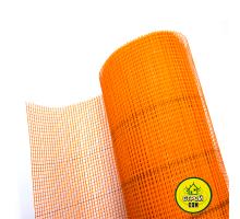 Сетка Премиум 5х5 160г  1рулон Оранжевая