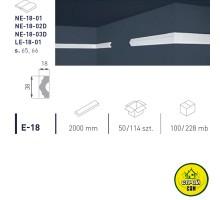 Марбет карниз LUX E-18 (2м)