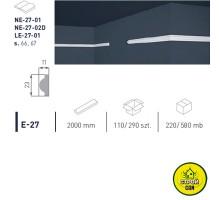 Марбет карниз LUX E-27 (2м)