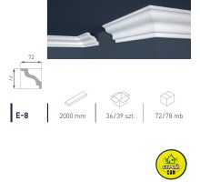 Марбет карниз LUX E-8 (2м)