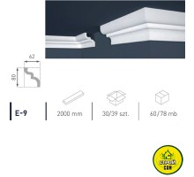 Марбет карниз LUX E-9 (2м)
