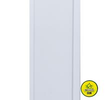 Пластик Днепр Белый 10см (1м.кв)