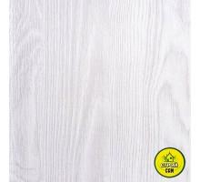 Пластик Днепр Белый ясень 25см (1м.кв)