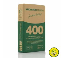 Цемент Хайдельберг ПЦ-400 (25кг) Кр.рог