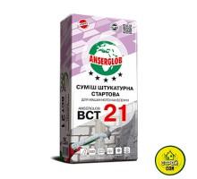 Штукатурка цем.известк. Anserglob ВСТ 21 (25кг) 5-30мм