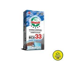 Клей для плитки Anserglob BCX 33 (25кг)