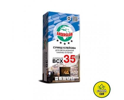 Клей для каминов и печей Anserglob BCX 35 (25кг)