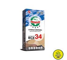 Клей для керамограниту Anserglob BCХ 34 (25кг)