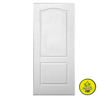 Дверь МДФ белая глухая (60см)