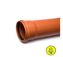 Труба рыжая 110  3,2мм (1м)